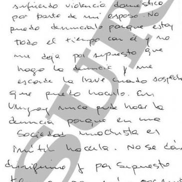 «Le escribo esta carta para pedirle ayuda, mis hijos y yo sufrimos violencia doméstica» IFS ABOGADOS LLEVA LA DEFENSA DEL MARIDO